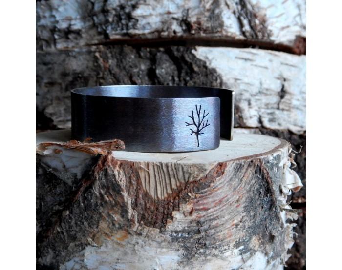 Duża bransoletka - Drzewa