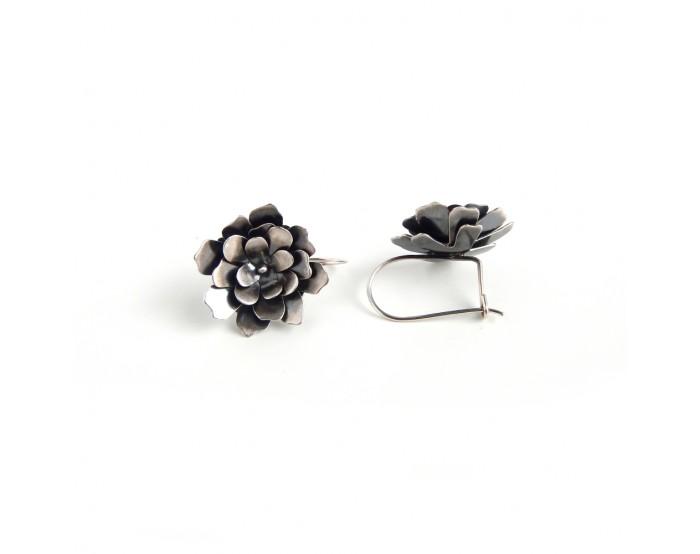 Kolczyki wiszące - Gardenie